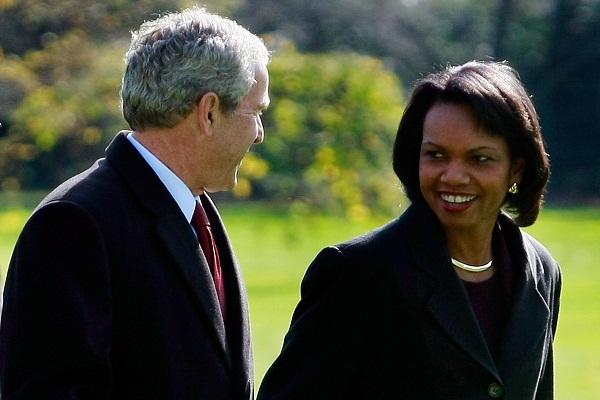 President Bush Returns To White House